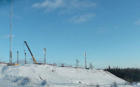 Crooked Lake - Feb 2014
