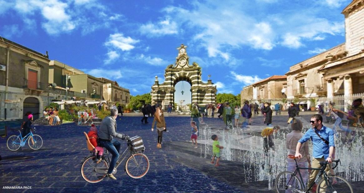 piazza Palestro e Porta Garibaldi_pedonale