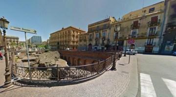 piazza Stesicoro-Catania