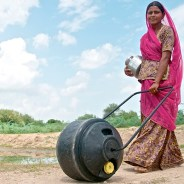 TRANSPORTING WATER IN THE INDIAN DESERT