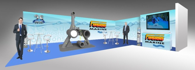 Fusion Marine exhibition stand
