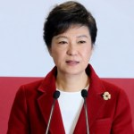 Park Geun-hye on campaign trail