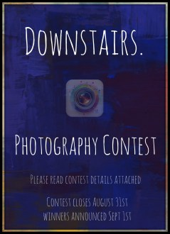 Downstairs. Photo Contest!