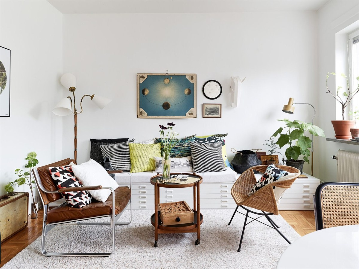 I wish I lived here: A mish-mash of furniture styles in Sweden