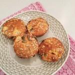 Recipe: super-simple seeded peach muffins
