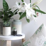 Styling a little botanical corner with Laura Ashley
