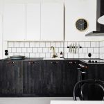 Dark minimalist kitchen inspiration