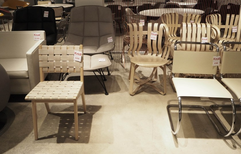 Knoll Sample Sale 2015 London Cate St Hill