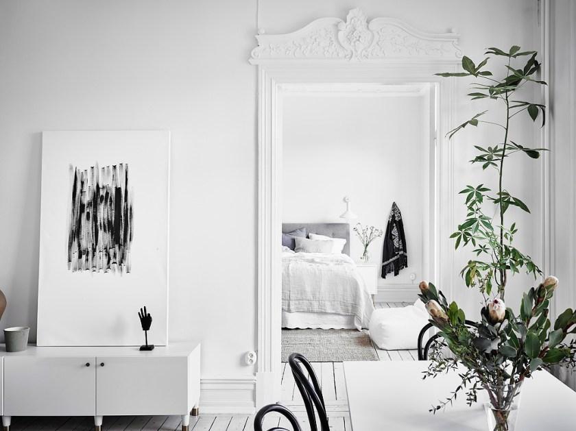 I wish I lived here: bright, white interior inspiration for Spring