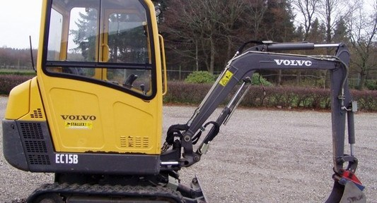 Volvo Ec15b Xtv Excavator Workshop Service Repair ...