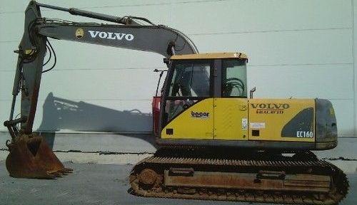 Volvo Ec160 Excavator Service Repair Manual
