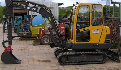 Volvo Ec35 Excavator Workshop Service Repair Manualcat
