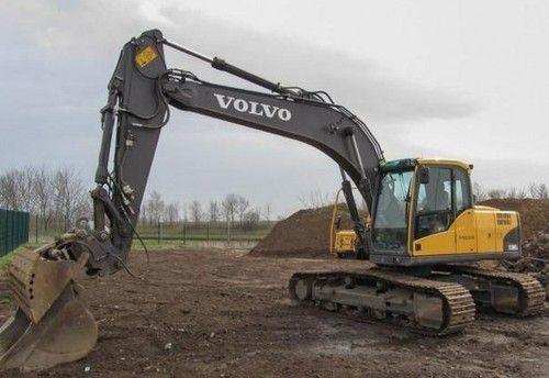 Volvo Ec180c L Ec180cl Excavator Workshop Service Parts