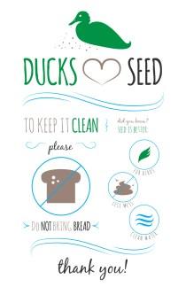 Ducks Love Seed