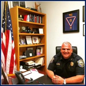 Police Chief Foti Koskinas, from Dan Woog's website