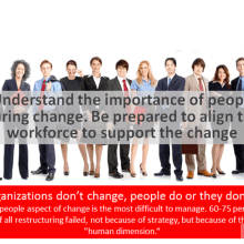 Change Management in Your Organization - See 20 Rules of Success