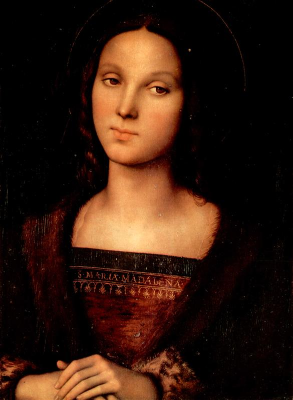 St. Mary Magdalene (1500), by Pietro Perugino (source)