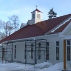 IHM Chapel in progress