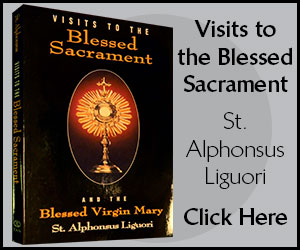 visits to the blessed-sacrament