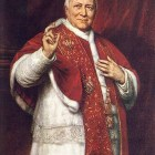 Blessed Pius IX, portrait by George Peter Alexander Healy (source)