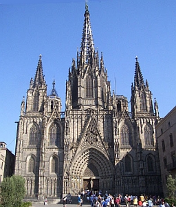 [Cathedral of Santa Eulalia, Archdiocese of Barcelona, Spain]