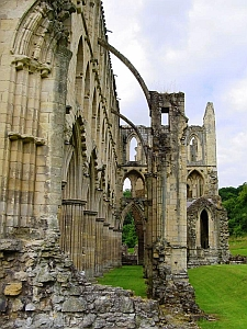 [ruins of Rievaulx Abbey]