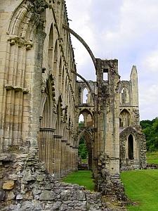 [ruins of Rievaulx Abbey]