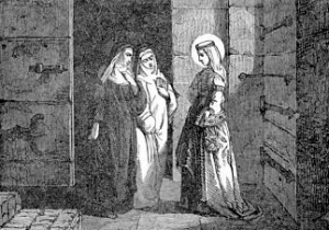 [Pictorial Lives of the Saints: Saint Bertille, Abbess]