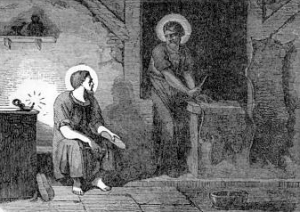 [Pictorial Lives of the Saints: Saint Crispin and Saint Crispinian, Martyrs]