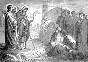 [Saint Dionysius and His Compansions, Martyrs]