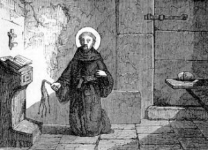 [Pictorial Lives of the Saints: Saint James of La Marca of Ancona]