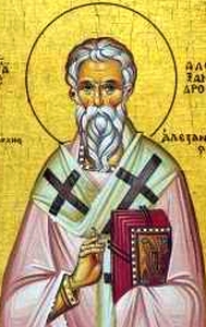 [Saint Alexander of Alexandria]