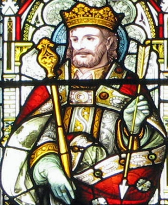[Saint Edmund of East Anglia]