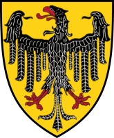 coat of arms for Aachen, Germany