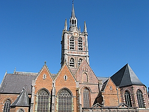 photograph of the Church of Saint Nicholas of Smyrne, Enghien, Belgium; taken by Jean-Pol GRANDMONT on 18 September 2005; swiped off the Wikipedia web site