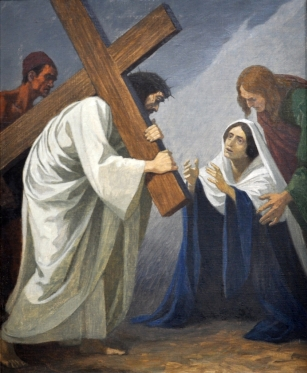 Fourth Station - Jesus Meets His Blessed Mother