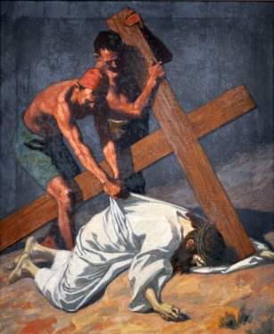 Ninth Station - Jesus Falls the Third Time