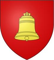 coat of arms for Saint-Astier, Dordogne, France