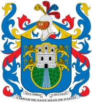 coat of arms for San Juan de Pasto, Argentina