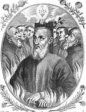 illustration of Blessed Giovanni Battista Zola, date and artist unknown; swiped from Santi e Beati