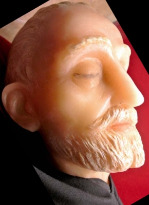 wax effigy of Blessed James of Cerqueto