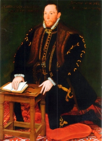 portrait of Blessed Thomas Percy, date and artist unknown; swiped from Santi e Beati