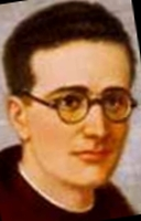 detail of an illustration of Blessed Vicente Cabanes Badenas, date and artist unknown; swiped from Santi e Beati