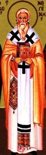 icon of Saint Athenogenes of Sebaste, date and aritst unknown; swiped from Santi e Beati
