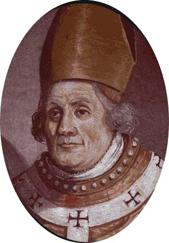 Saint Discolio of Vercelli; swiped from Santi e Beati