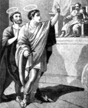Saint Hyacinth and Saint Protus
