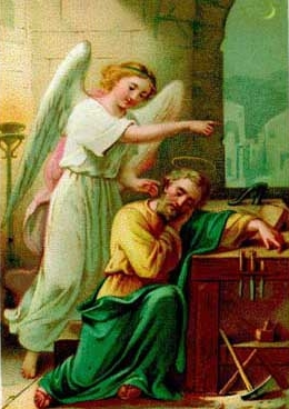 Saint Joseph and Angel