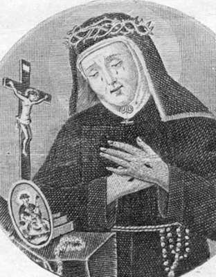 Saint Mary Frances of the Five Wounds of Jesus