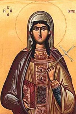 Saint Olympias of Constantinople