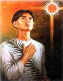 portrait of Saint Pedro, by Rafael del Casal
